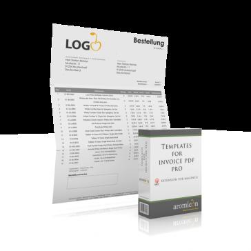 WindowInvoice Rechnungstemplates Englisch Box