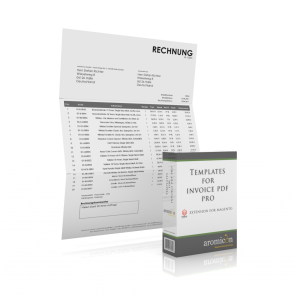 Invoice Pdf Pro - WindowInvoice Rechnungstemplate (deutsch)