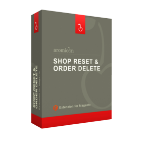 Aromicon Magento Shop Reset & Order Delete