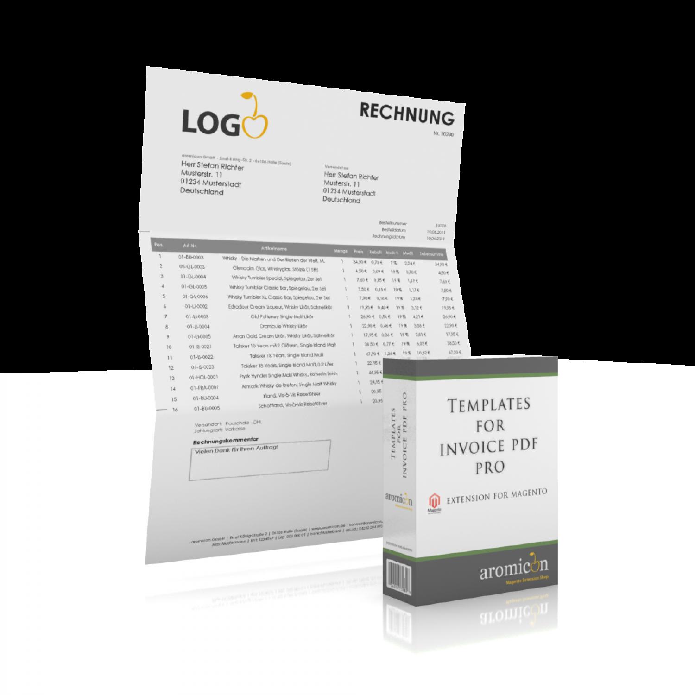 invoice pdf pro windowinvoice invoice template german windowinvoice box german · windowinvoice example invoice · windowinvoice layout einseitige rechnung