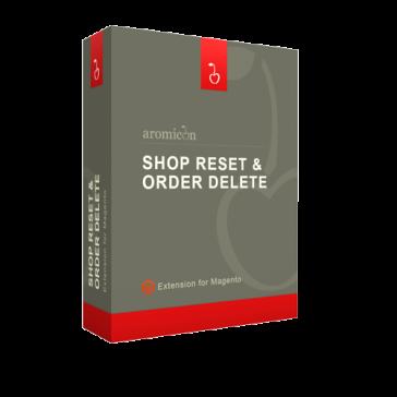 Aromicon Shop Reset & Order Delete
