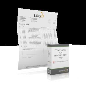 Invoice Pdf Pro - Standard Invoice Template (english)